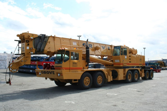 80 Ton Grove Crane