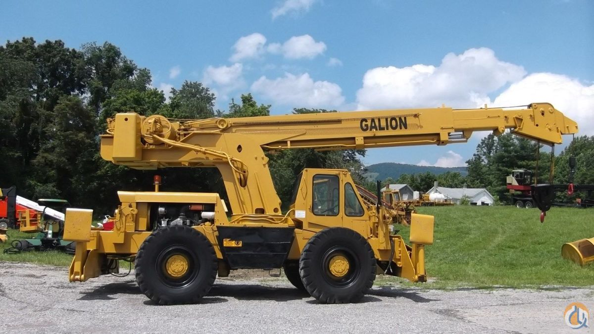 15 Ton Galion Crane